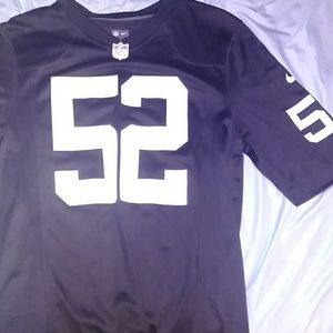 New authentic Oakland raiders Khalil Mack jersey